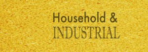 household and industrial cleaners