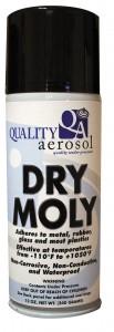 Quality Aerosols Dry Moly