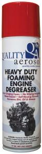 Quality Aerosols Heavy Duty Foaming Engine Degreaser