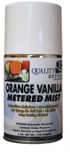 ORANGE VANILLA METERED MIST