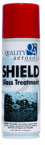 Quality Aerosols Shield Glass Treatment