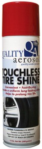 Quality Aerosols Touchless Tire Shine