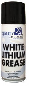 Quality Aerosols White Lithium Grease