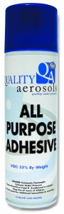 Quality Aerosols All Purpose Adhesive