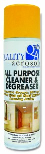 Quality Aerosols All purpose cleaner & Degreaser