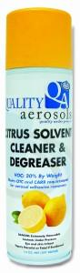 Quality Aerosols Citrus Solvent Cleaner & Degreaser