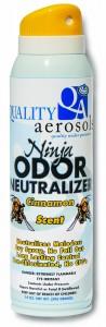 Quality Aerosols Ninja Odor Neutralizer - Cinnamon scent
