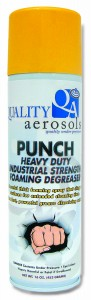 Quality Aerosols Punch Foaming Degreaser