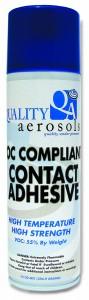 Quality Aerosols VOC Compliant Contact Adhesive